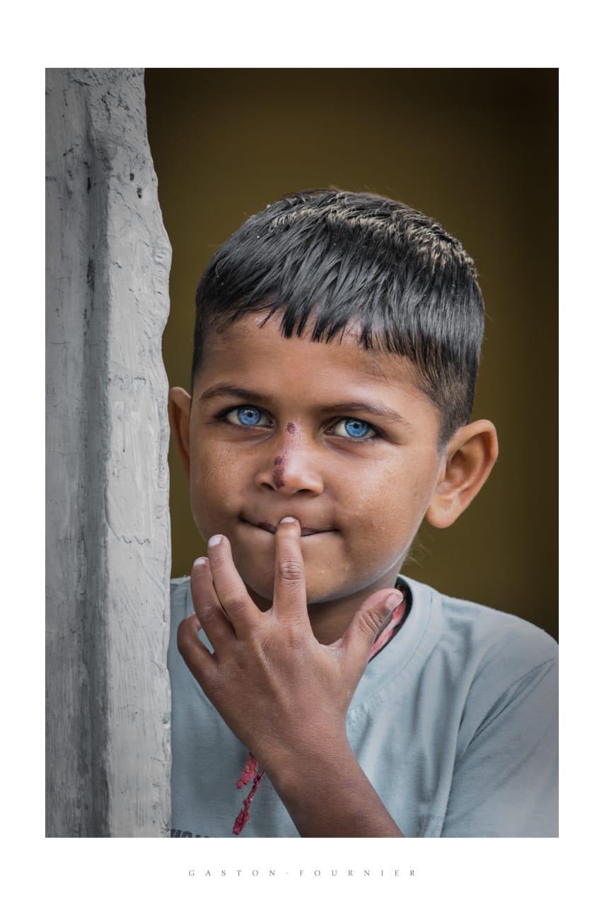 ojos indios. Udaipur, India, 2020